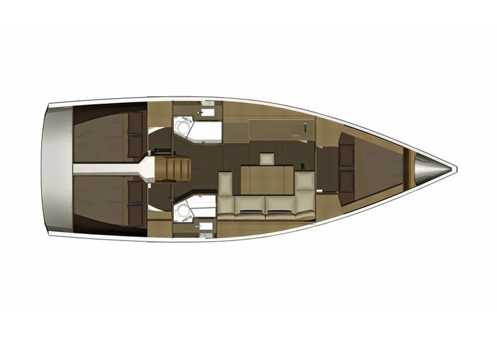 Dufour 382 Grand Large (2016) - Yacht Charter Croatia