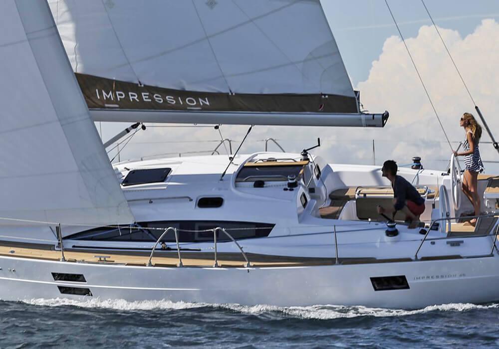 Elan Impression 45 (2018) - Yacht Charter Croatia