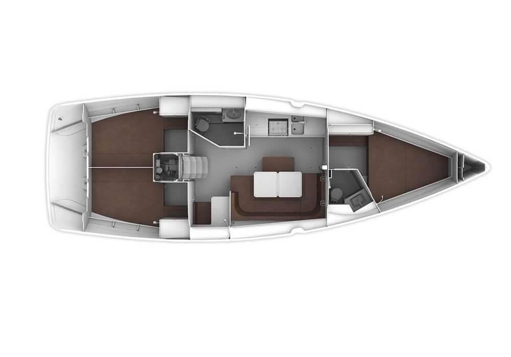 Bavaria Cruiser 41 (2017) - Yacht Charter Croatia