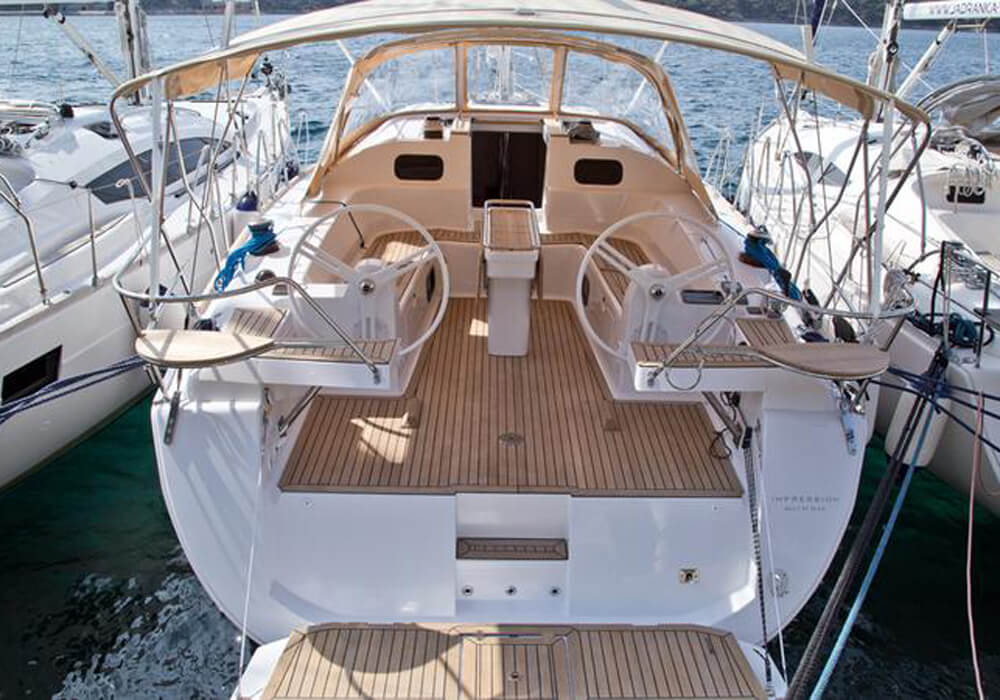 Elan 45 Impression (2016) - Yacht Charter Croatia