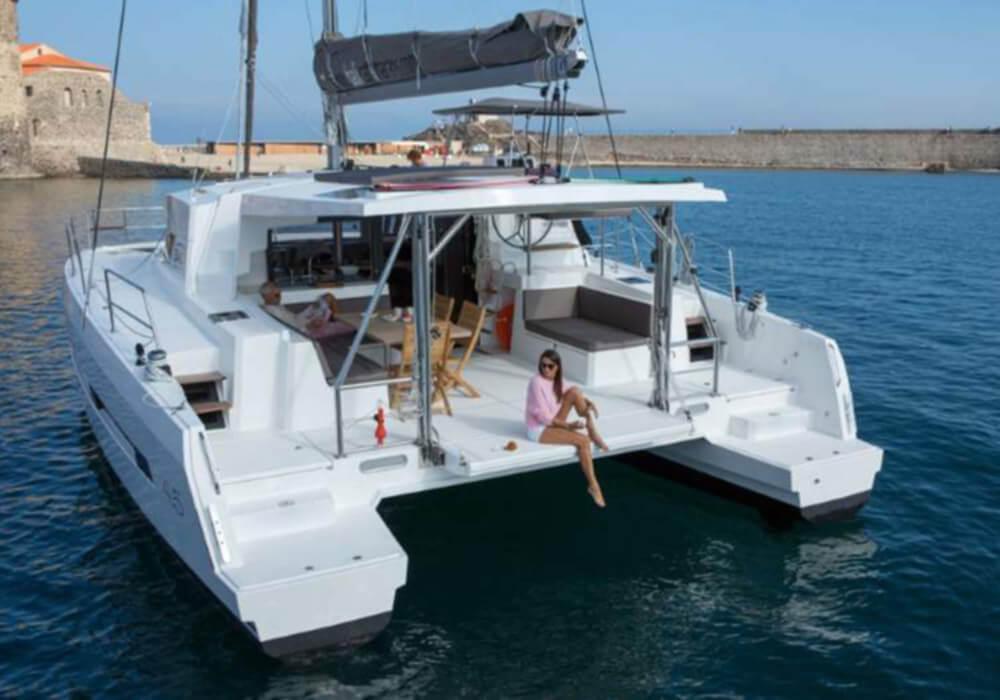 Bali 4.5 (2017) - Catamaran Charter Croatia