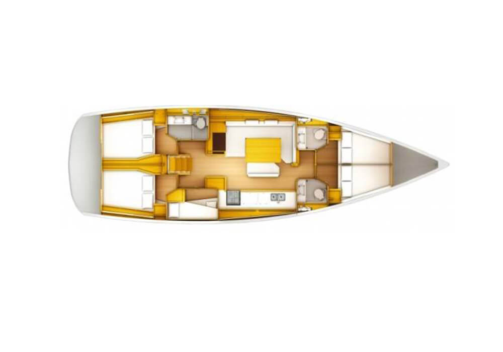 Jeanneau Sun Odyssey 519 (2016) - Yacht Charter Croatia