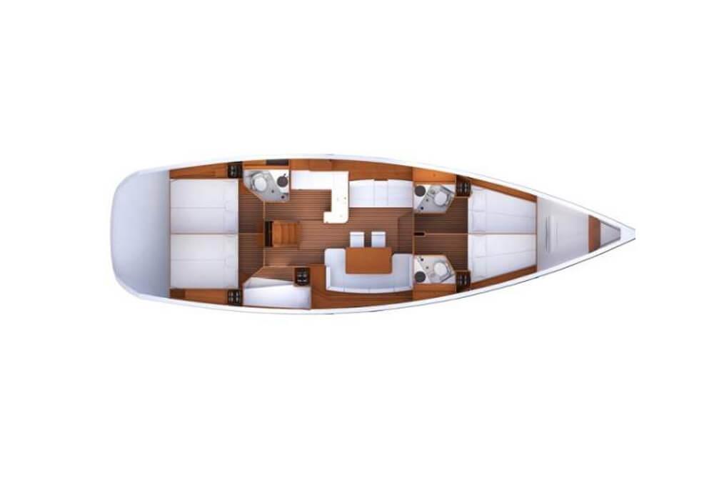 Yacht Charter Croatia - Jeanneau 53 (2014)