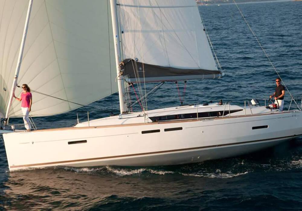 Jeanneau Sun Odyssey 419 (2019) - Yacht Charter Croatia