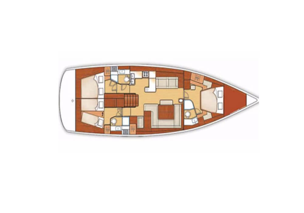 Beneteau Oceanis 58 (2012) - Yacht Charter Croatia