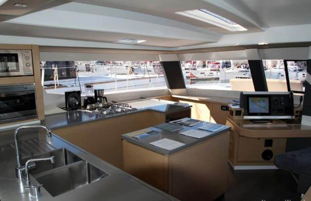Saba 50 (2015) - Catamaran Charter Croatia