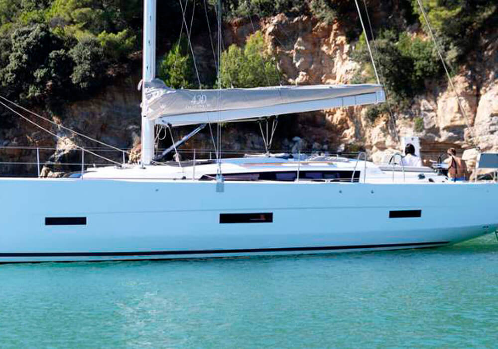 Dufour 430 Grand Large (2019) - Yacht Charter Croatia