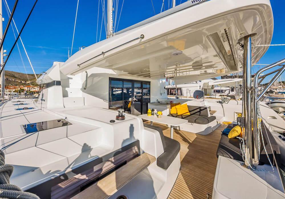 Lagoon 50 Fly (2018) - Catamaran Charter Croatia