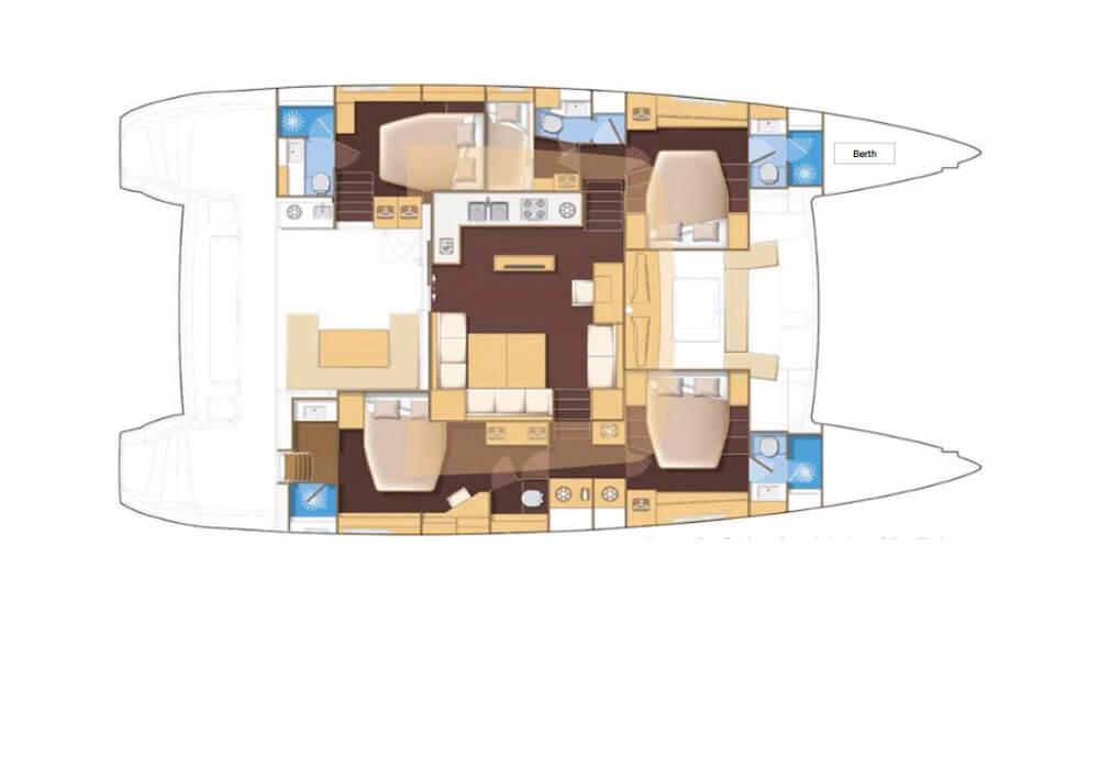 Lagoon 560 (2016) - Catamaran Charter Croatia