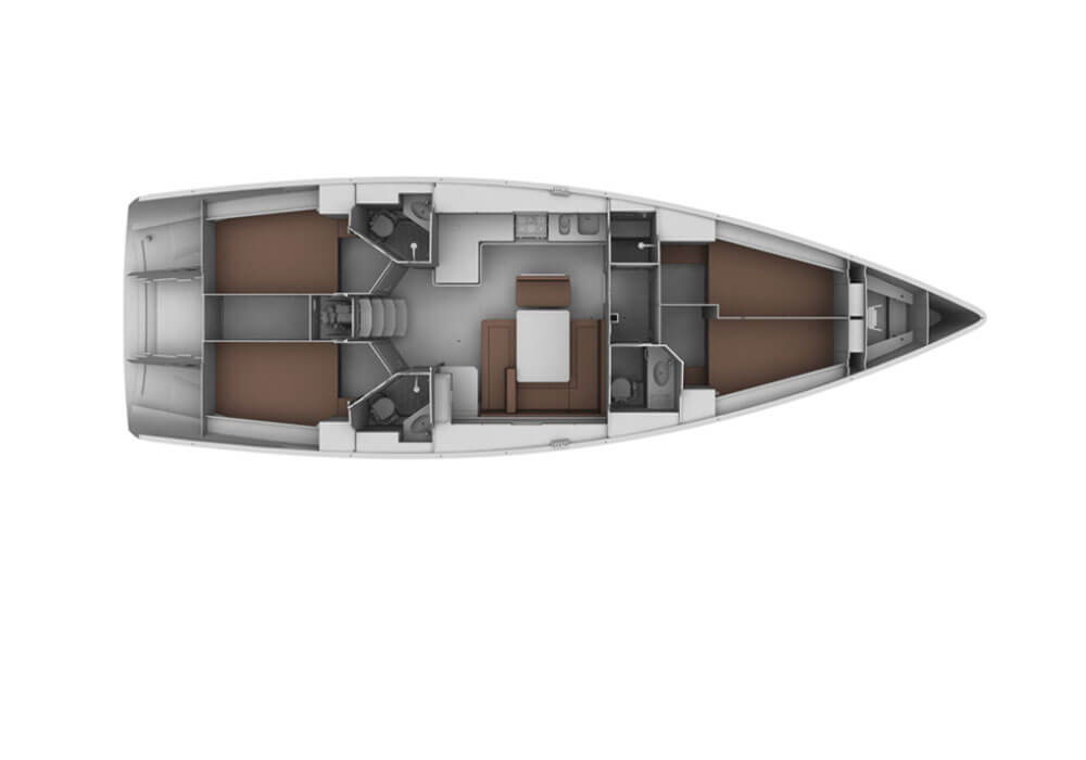 Bavaria Cruiser 45 (2012) - Yacht Charter Croatia