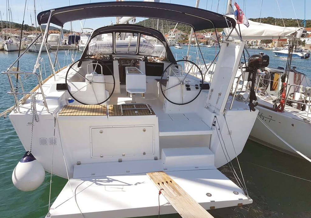 Dufour 460 Grand Large (2016) - Yacht Charter Croatia
