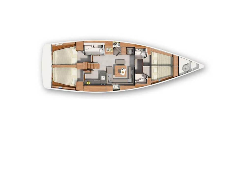 Hanse 455 (2016) - Yacht Charter Croatia