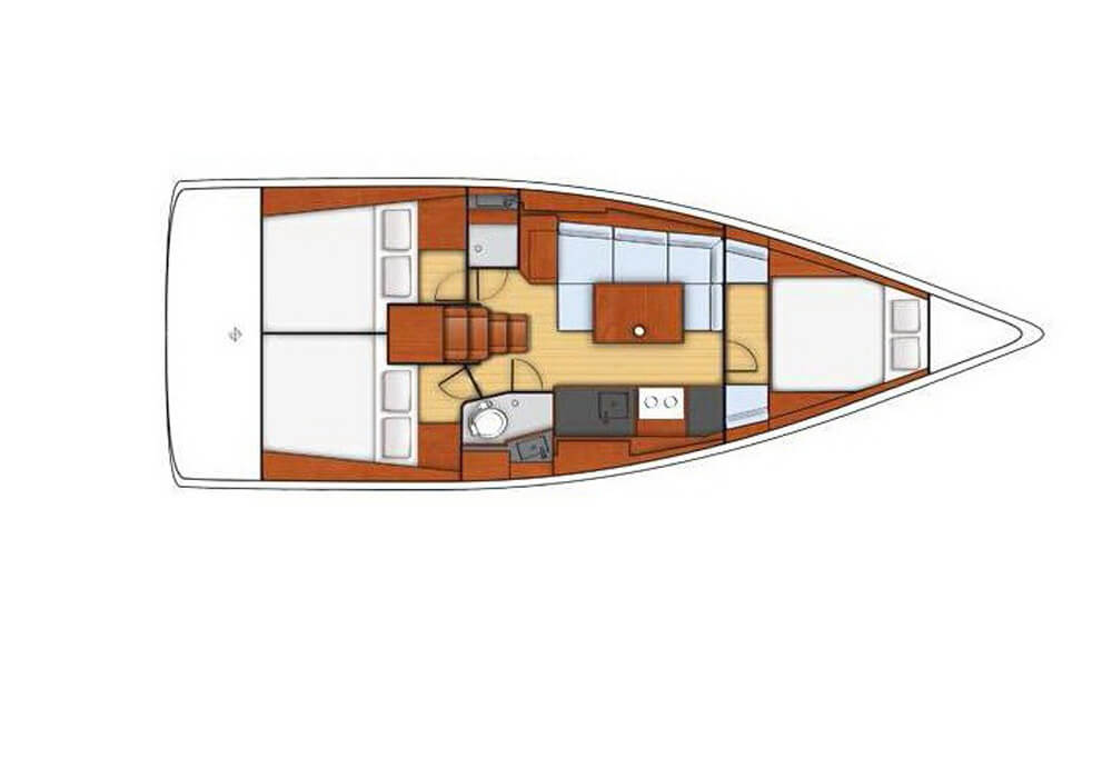 Beneteau Oceanis 38 (2015) - Yacht Charter Croatia