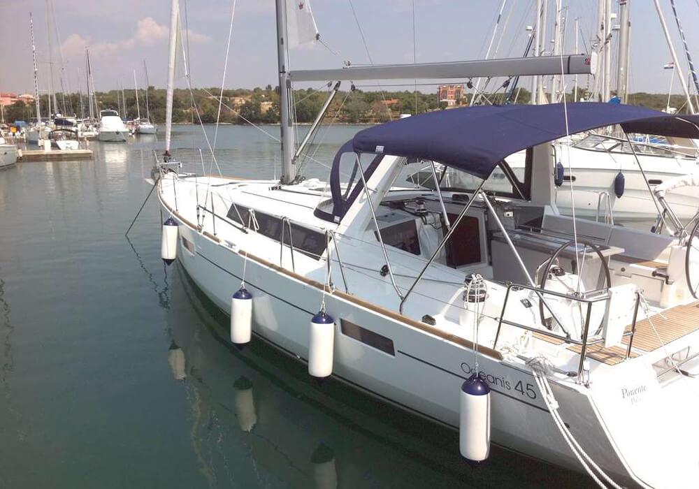 Beneteau Oceanis 45 (2013) - Yacht Charter Croatia