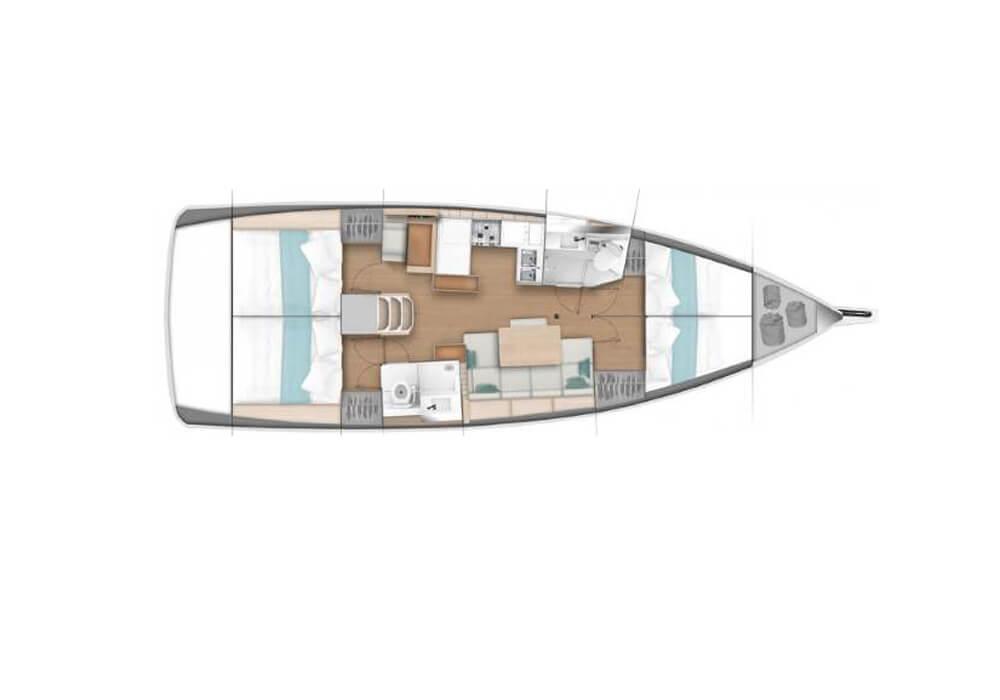 Yacht Charter Croatia - Sun Odyssey 440 (2019)