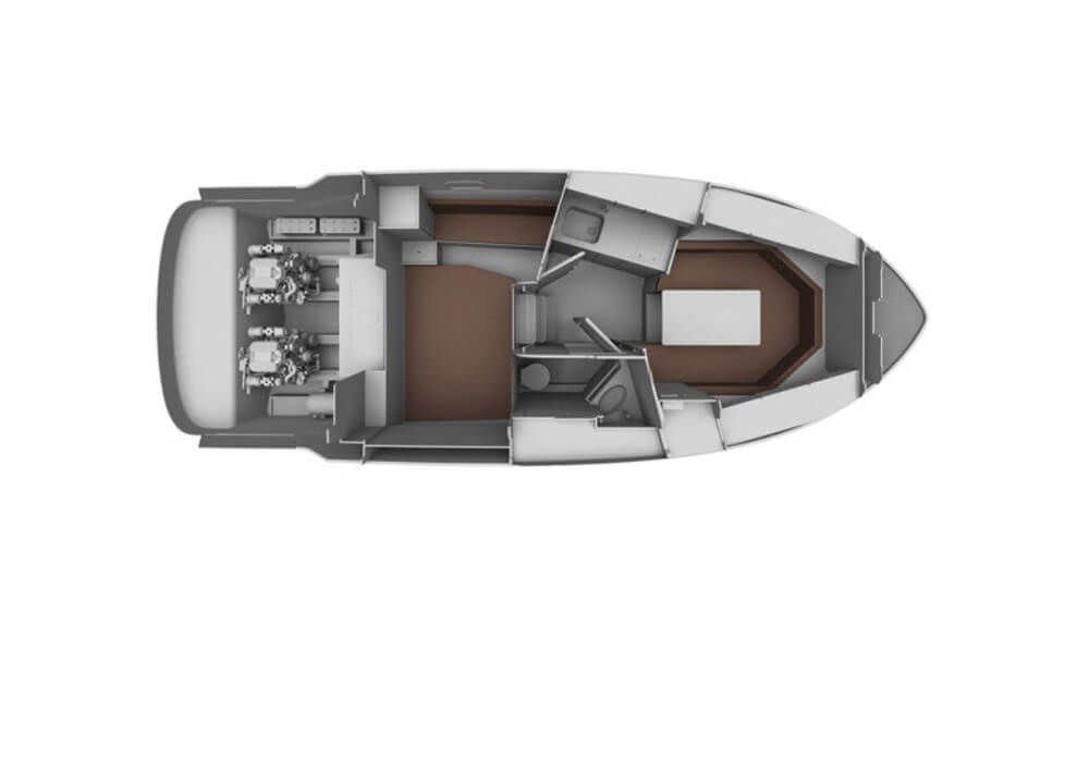 Bavaria 29 Sport (2013) - Motor Yacht Charter Croatia