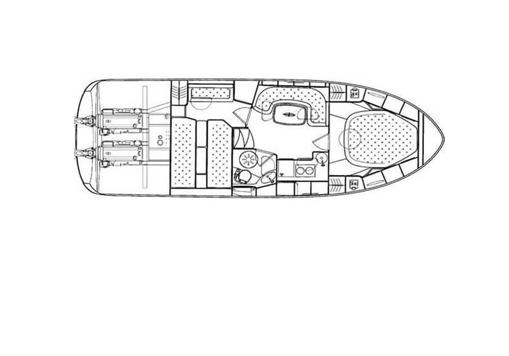 Bavaria 33 Sport (2010) - Motor Yacht Charter Croatia