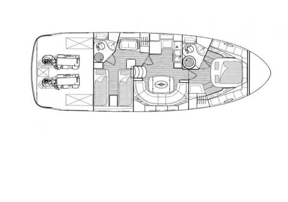 Bavaria 42 HT (2010) - Motor Yacht Charter Croatia