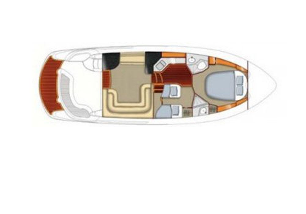 Sealine F37 (2007) - Motor Yacht Charter Croatia