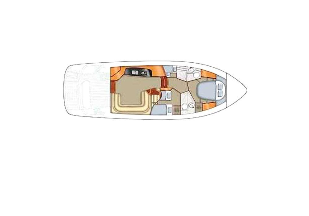 Sealine F42/5 Fly (2010) - Motor Yacht Charter Croatia