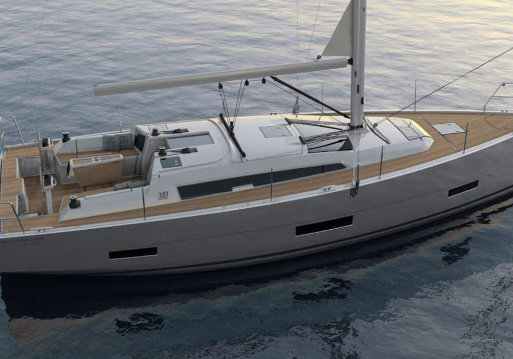 Dufour 390 Grand Large (2019) - Yacht Charter Croatia