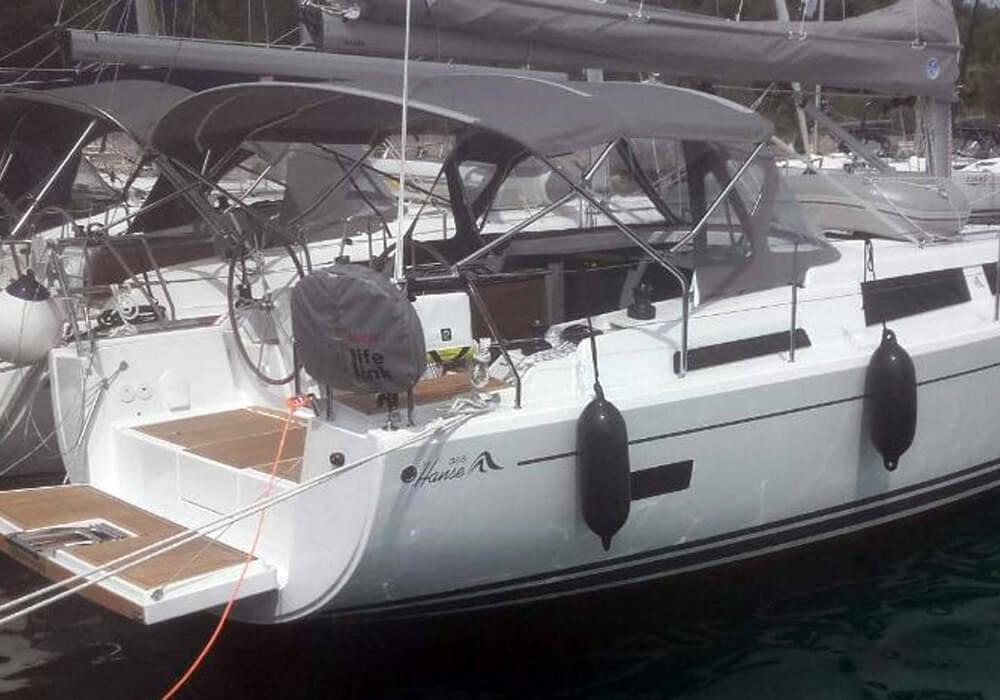 Hanse 388 (2018) - Yacht Charter Croatia